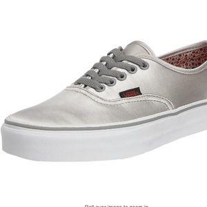 Vans NWB Neutral Grey Unisex Shoes 10.5
